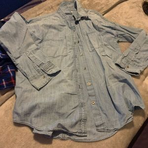 Old navy L denim shirt